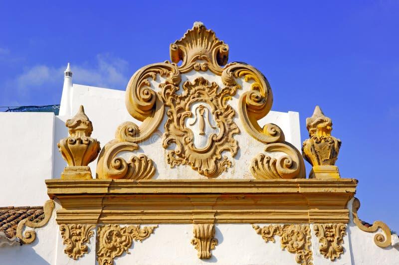 Portugal, Algarve, Lagos: architectuur royalty-vrije stock afbeeldingen