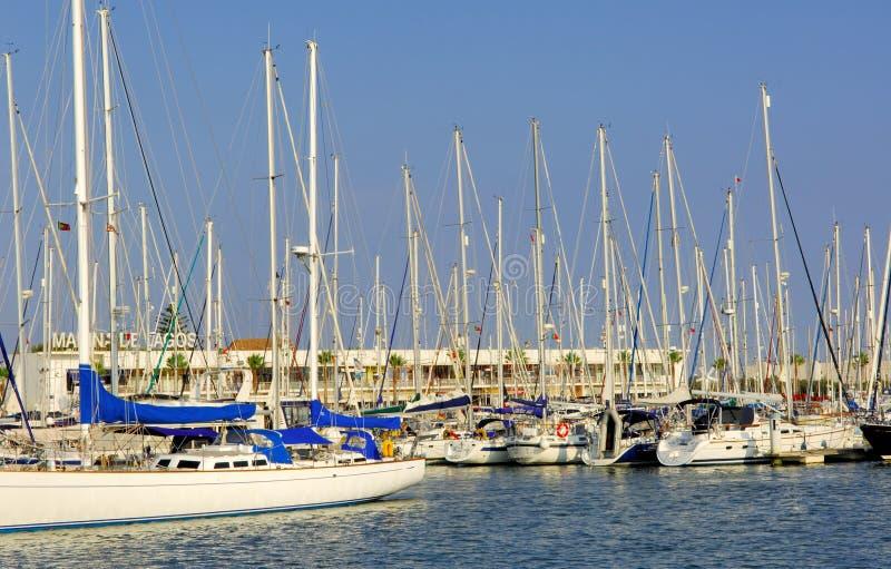 Portugal, Algarve, Lagos: Jachthaven stock foto's