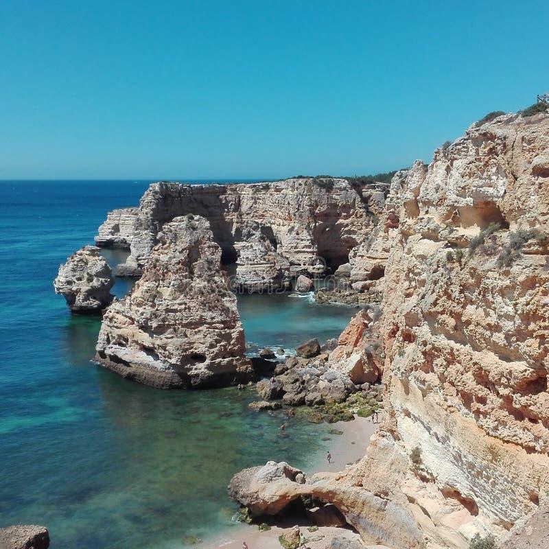 Portugal Algarve Praia DE Marinha royalty-vrije stock afbeelding