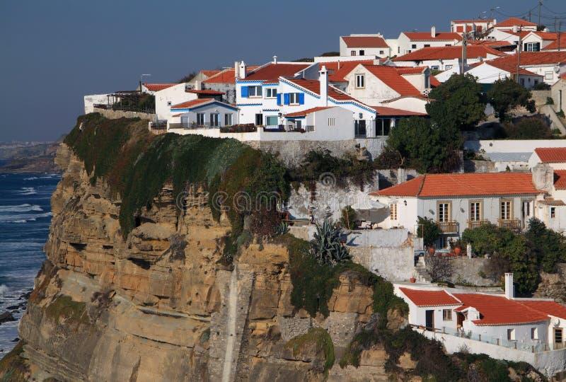 Portugal Azenhas beschädigen stockfotos