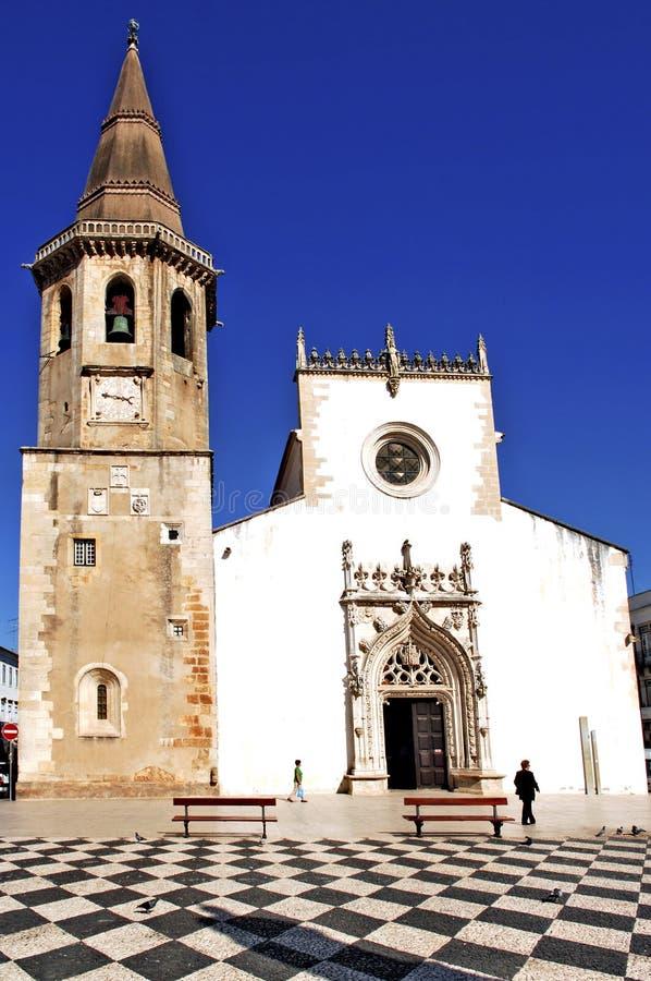 Portugal, Beja: Igreja imagem de stock