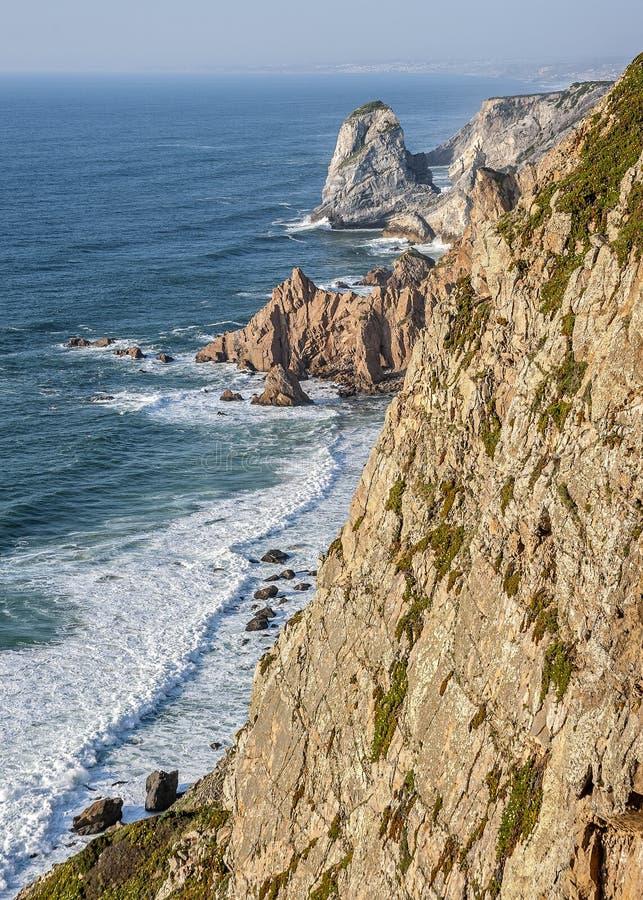 Portugal, Cabo a Dinamarca Roca fotos de stock royalty free