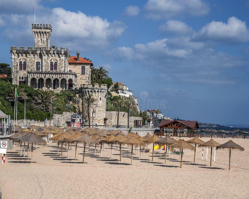 portugal Cascais - cidade e porto situados não longe de Lisboa fotos de stock royalty free
