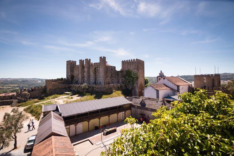 Portugal_Castle fotografia de stock royalty free