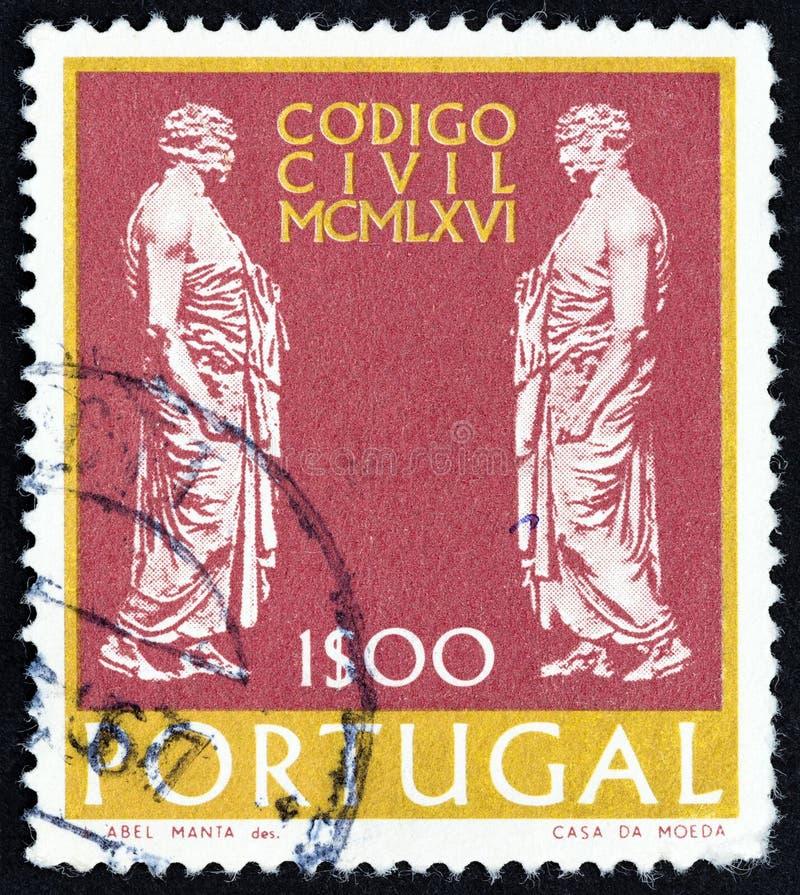 Free PORTUGAL - CIRCA 1967: A Stamp Printed In Portugal Shows Roman Senators, Circa 1967. Stock Photos - 156167993