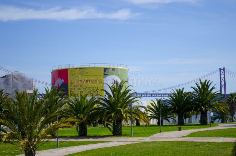 Portugal. EXPO 2012. ILUSTRARTE 2012 EXHIBITION. Lisbon. Portugal Museu da Electricidade Av.Brasília, Central Tejo, Lisboa stock image
