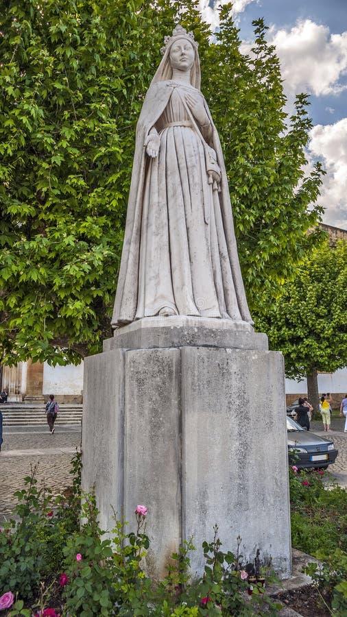 Portugal Fatima - staty av jungfruliga Mary royaltyfri fotografi