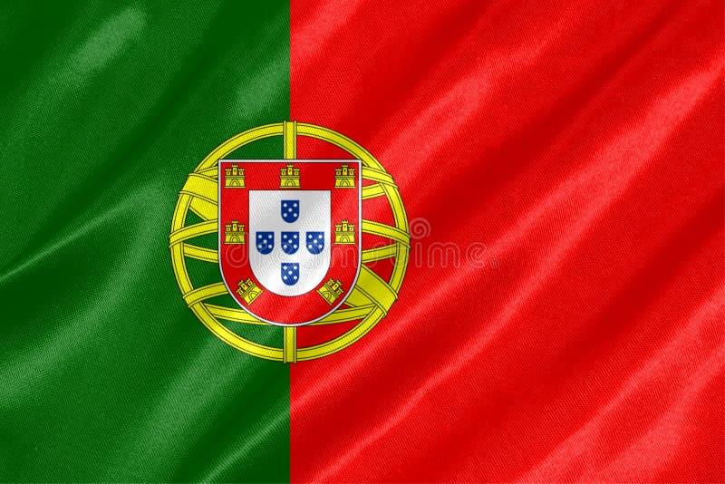 Portugal-Flagge stockbilder