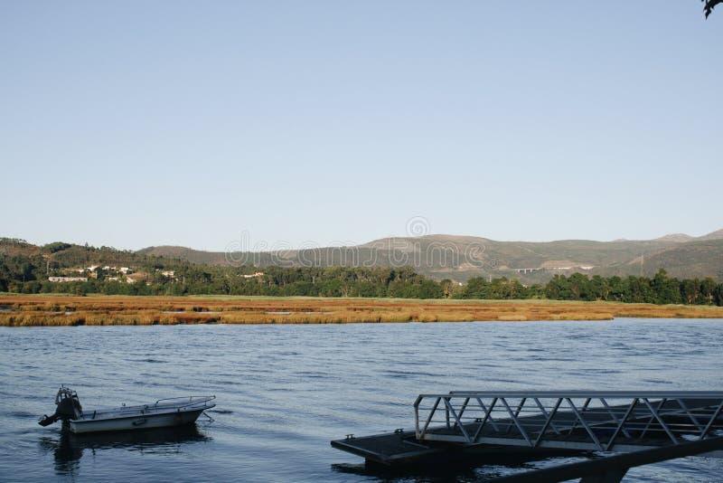 Portugal flodfartyg royaltyfria bilder