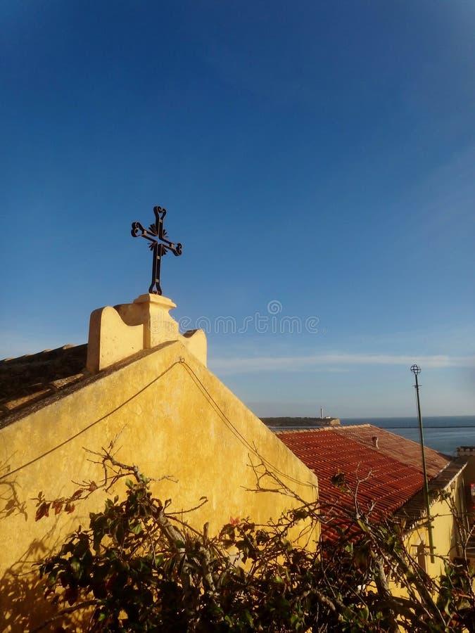 Portugal-Gebäude lizenzfreies stockbild