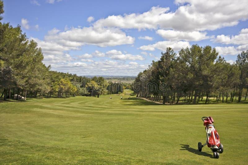 Portugal golf pola zdjęcie royalty free
