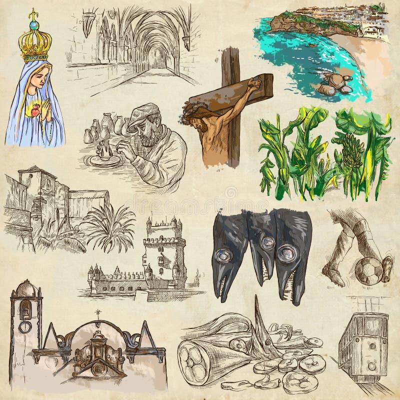 Download Portugal Imagens Da Vida Freehands Ilustração Stock - Ilustração de history, arte: 65577930