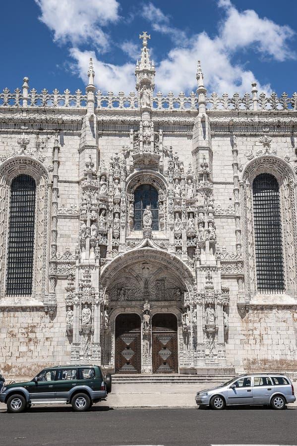Portugal, Lisboa Monastério de Jeronimos imagens de stock