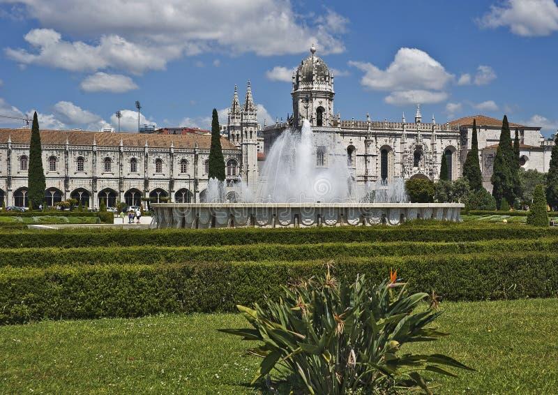 Portugal, Lisboa Monastério de Jeronimos imagens de stock royalty free
