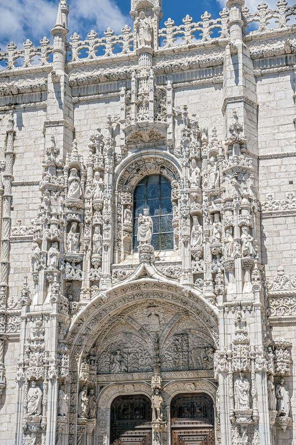 Portugal, Lisboa Monasterio de Jeronimos fotografía de archivo libre de regalías
