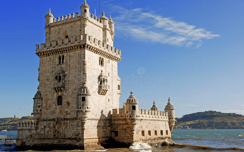 Portugal, Lisbon: Belem stock image