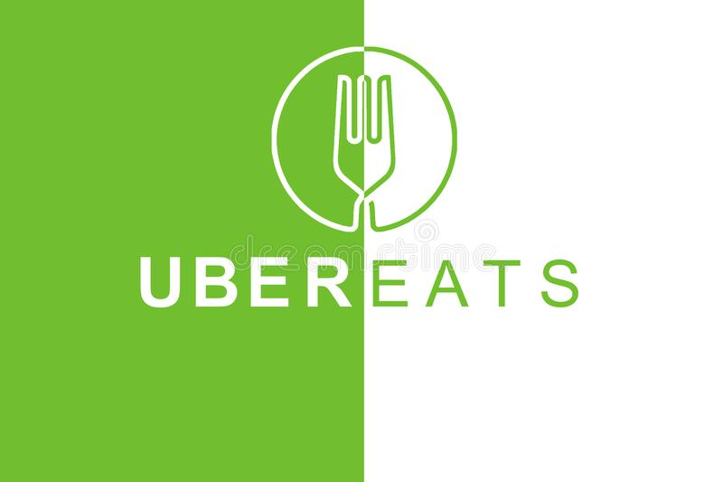 Portugal Lisbon June 16 2018 Illustration Of The Uber Eats Logo A Popular Firm For The Delivery Of Food At Home And Editorial Stock Photo Illustration Of Company Bring 119103713 Download the vector logo of the uber eats brand designed by in encapsulated postscript (eps) the above logo design and the artwork you are about to download is the intellectual property of the. illustration of the uber eats logo a