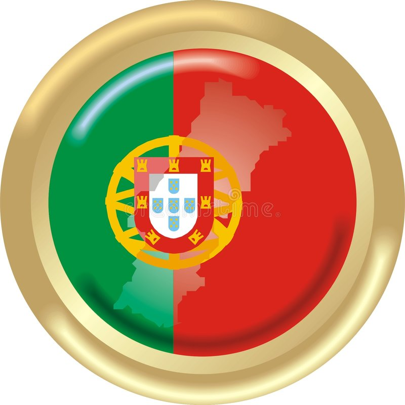 Portugal Map And Flag Royalty Free Stock Photo Image - Portugal map flag