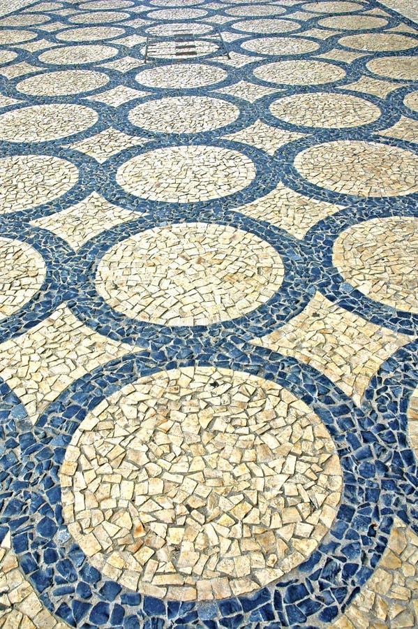 Portugal, Oporto: Piedra de pavimentación típica fotografía de archivo libre de regalías