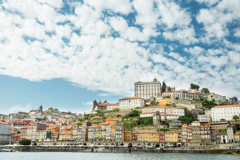 Portugal porto Budynki rzek? zdjęcia stock