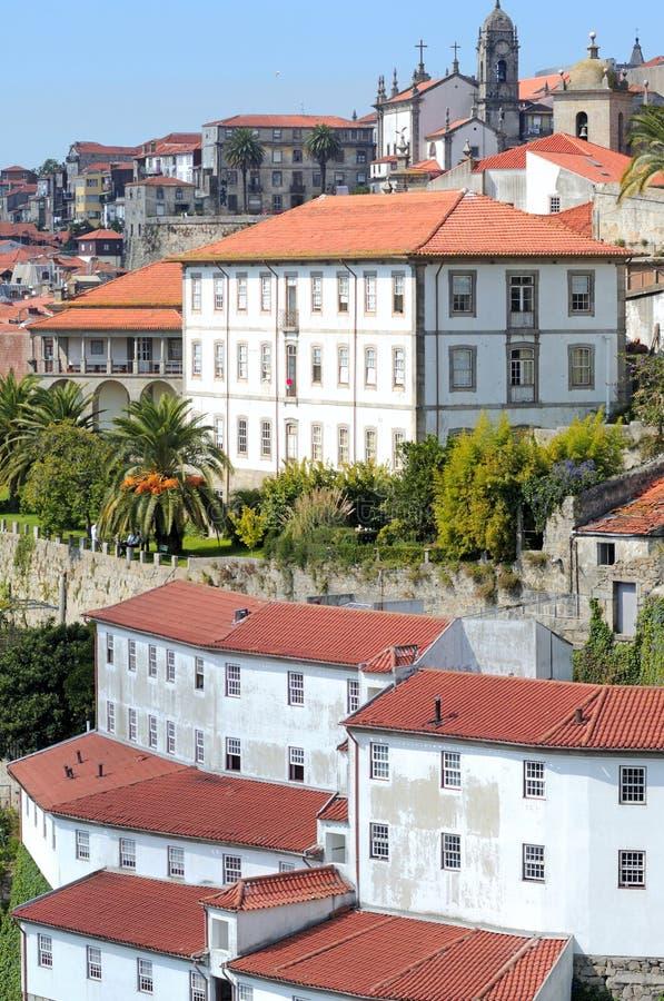 Portugal, Porto; oude stad stock foto's