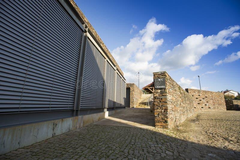 PORTUGAL, QUINTANDONA-DORP, 26 NOV. 2018 aka Aldeia DE Quintandona, Penafiel royalty-vrije stock afbeeldingen