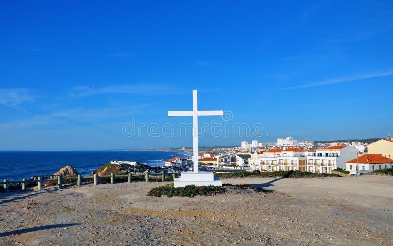 Portugal Santa Cruz foto de stock