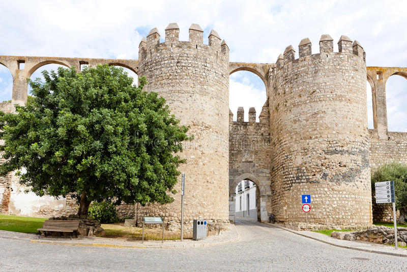 portugal serpa zdjęcia stock