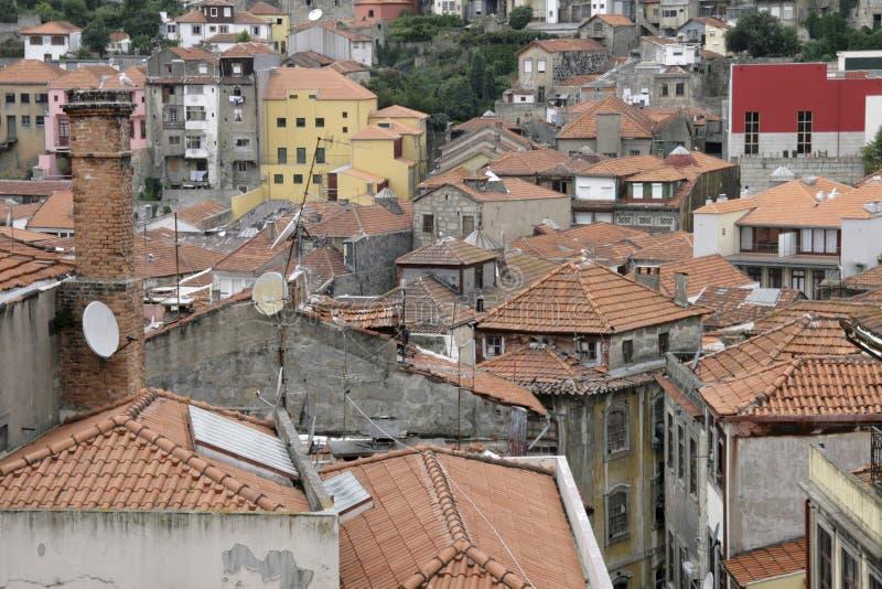 portugal tak arkivfoton