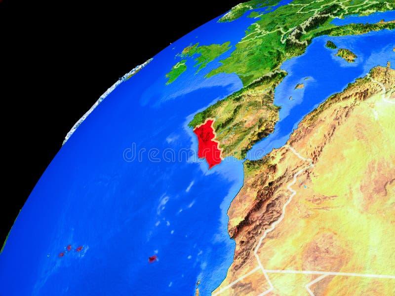 Portugal ter wereld van ruimte royalty-vrije stock foto