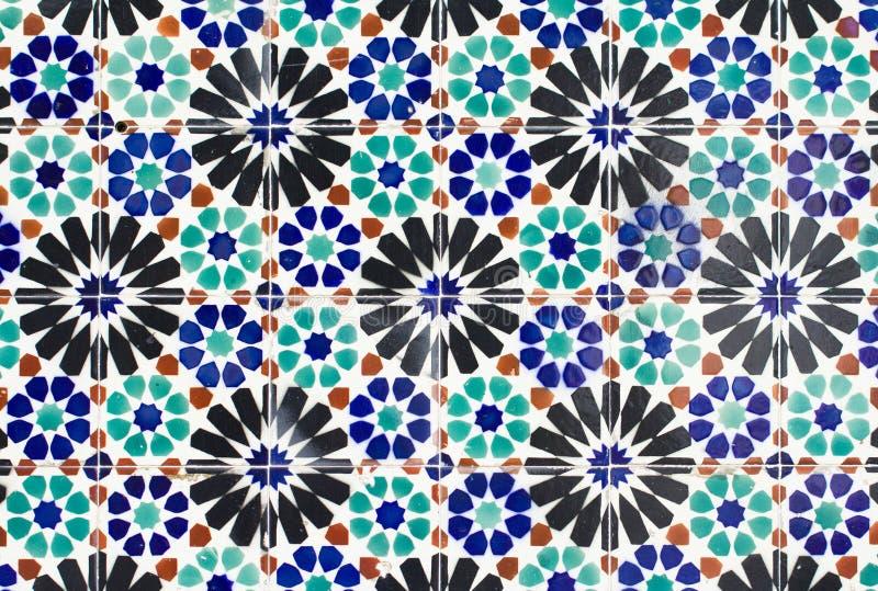 Portugal tiles closeup stock photo