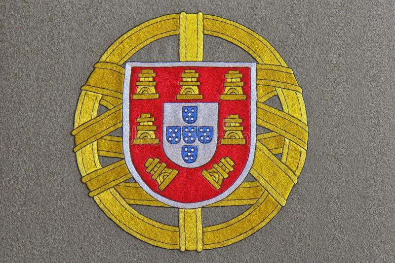 Portugalia żakiet ręki ilustracja wektor
