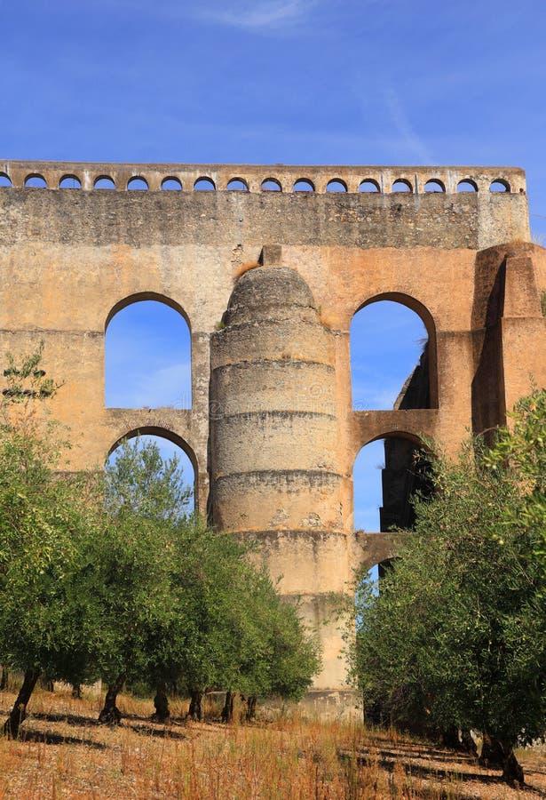 Portugalia, Alentejo region, Elvas Unesco Światowego Dziedzictwa Miejsce obraz royalty free