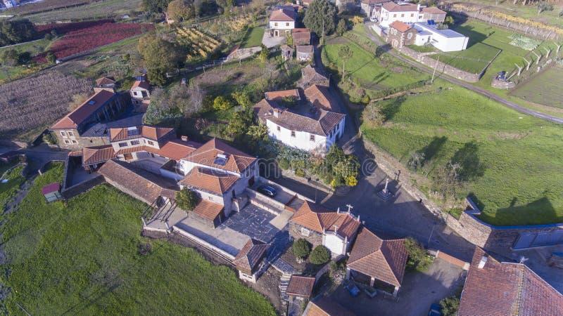 PORTUGALIA, QUINTANDONA wioska, 26 aka Aldeia De Quintandona NOV 2018, Penafiel fotografia royalty free