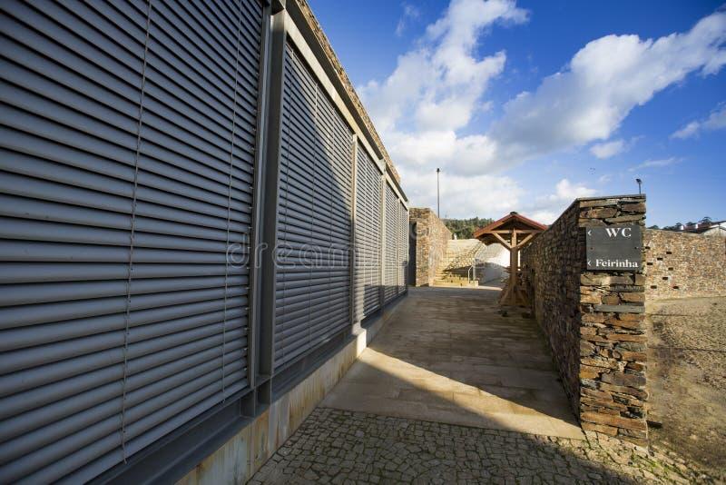 PORTUGALIA, QUINTANDONA wioska, 26 aka Aldeia De Quintandona NOV 2018, Penafiel zdjęcie stock