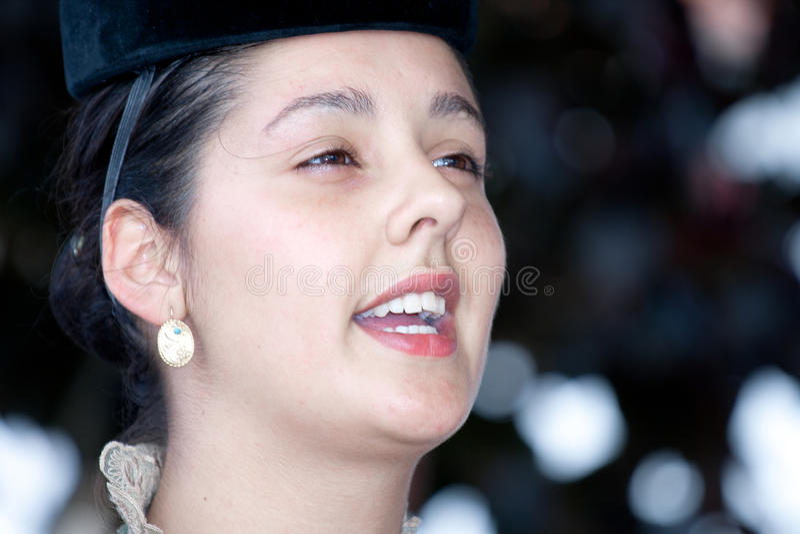 Portugalski folkloru piosenkarz zdjęcie royalty free