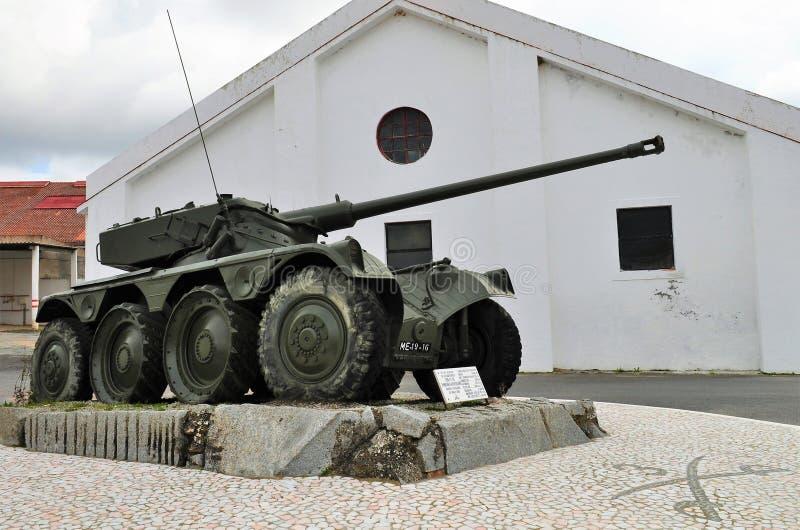 Portugalski militarny zbiornik fotografia stock