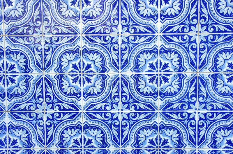 Portugalskie błękit płytki obraz stock