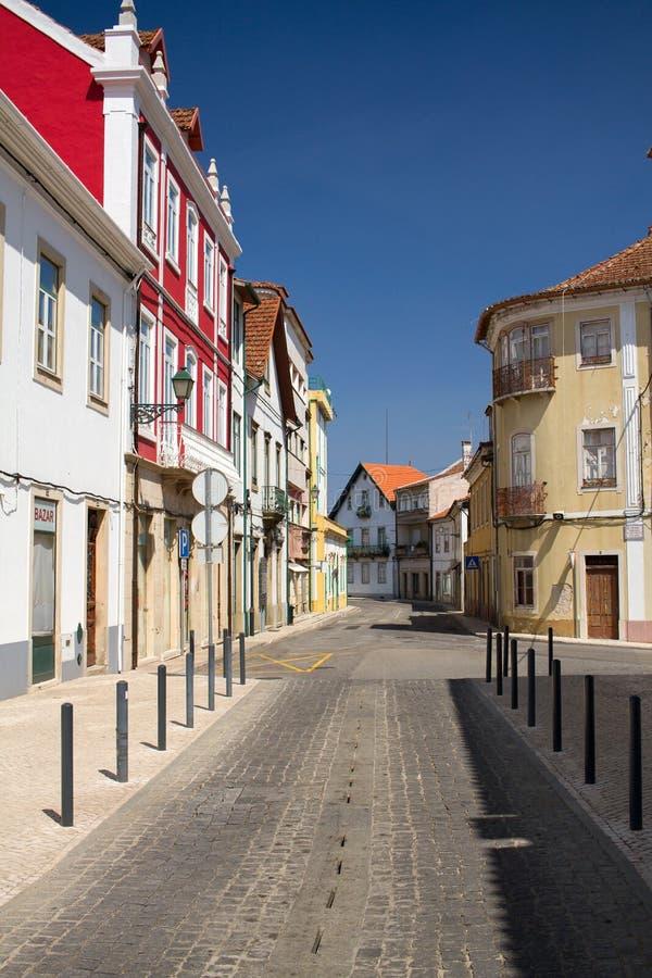 Portugees Dos Vinhos van dorpsfigueiro stock foto's
