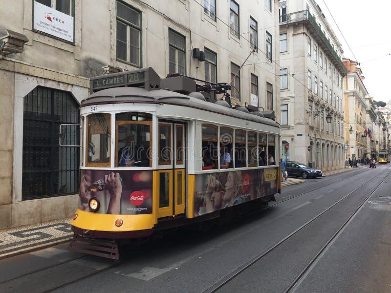 Portugeese tramwaj zdjęcia stock