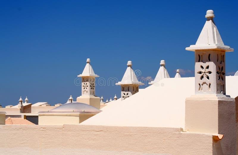 portugese屋顶 图库摄影