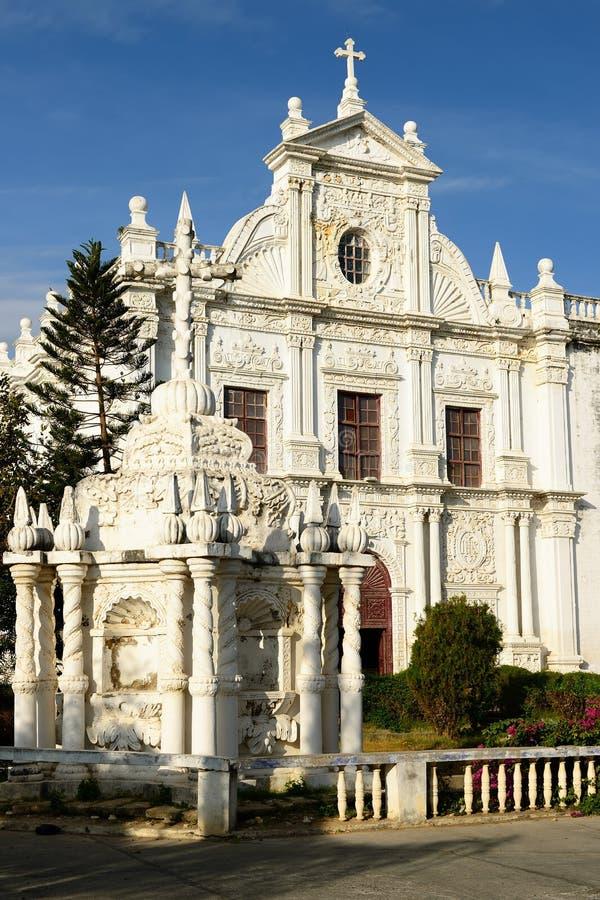 Portugese stad in Gujarat royalty-vrije stock fotografie
