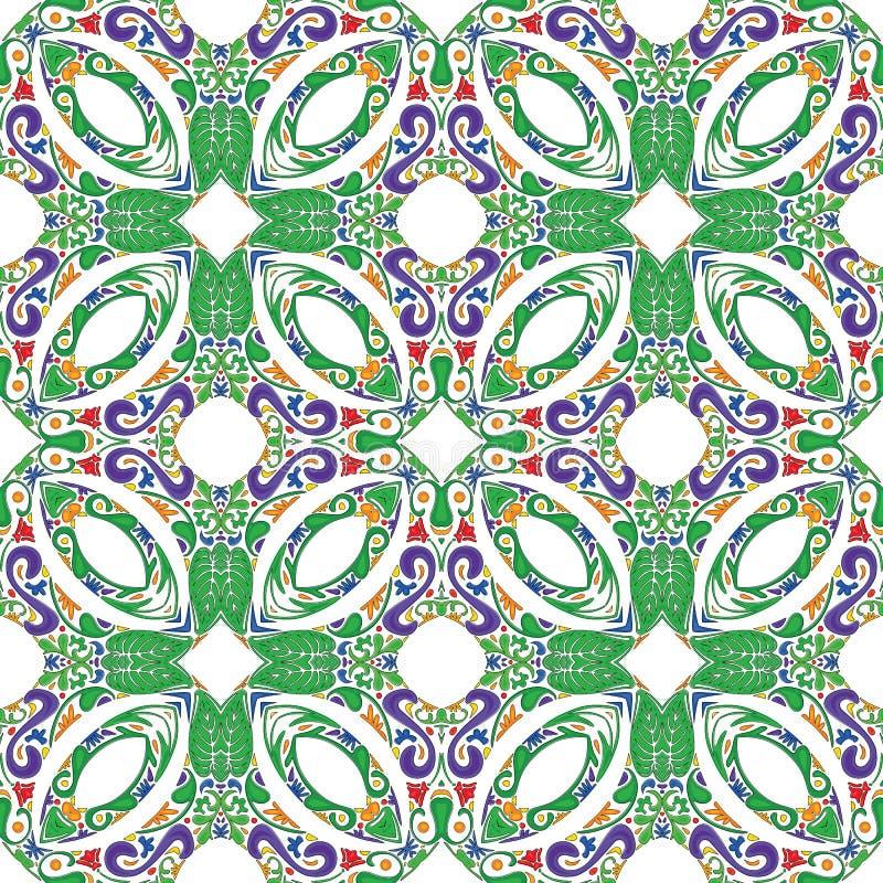 Portugese tegels vector illustratie