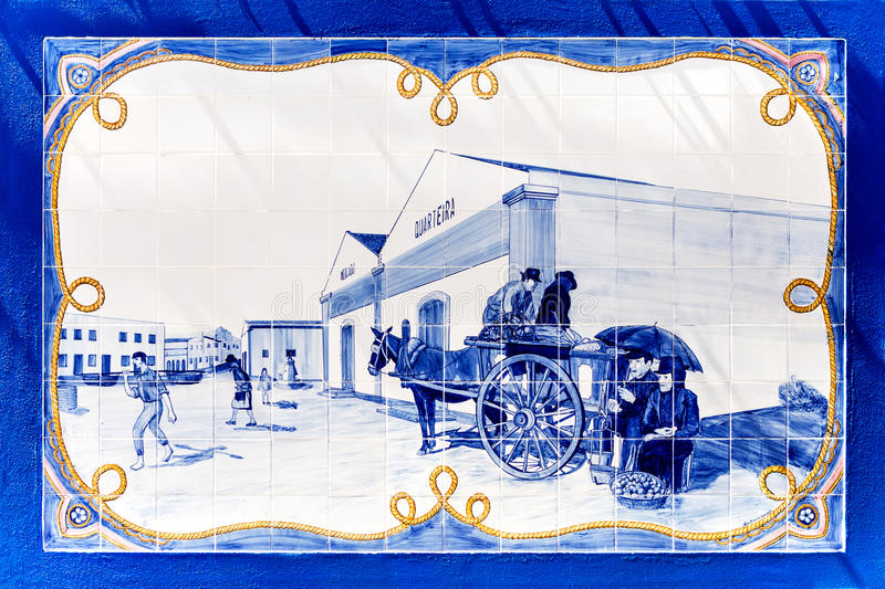 Portugese tegels royalty-vrije stock fotografie
