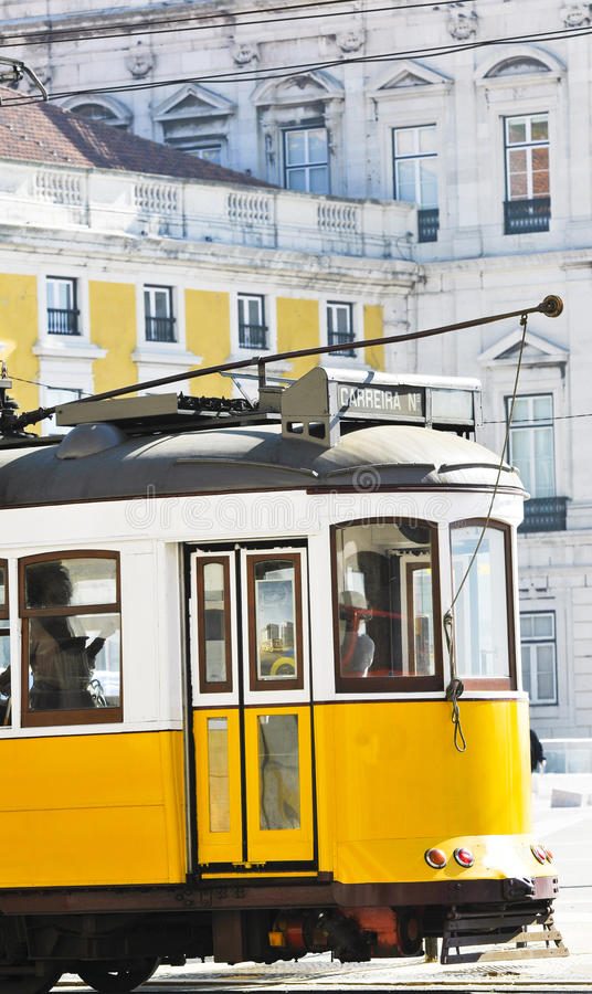 Free Portugese Tramcar Royalty Free Stock Photo - 17205395