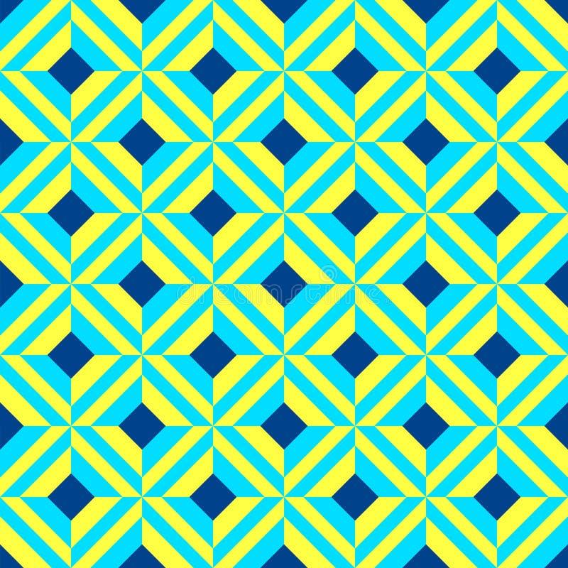 Portugiesische azulejo Fliesen Nahtlose Muster stock abbildung