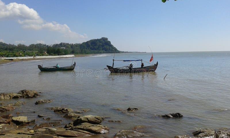 Portugis för benteng för Jepara indonesia berg vita arkivbild