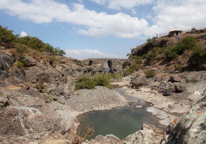 Portugisisk bro ethiopia fotografering för bildbyråer