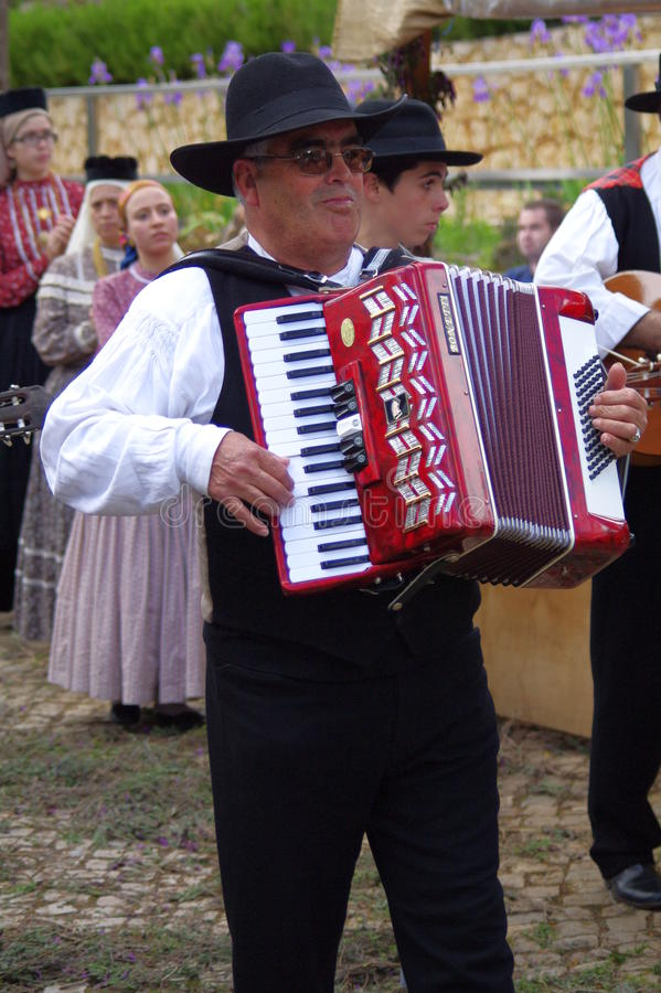 Portugisisk folkloreranch royaltyfri fotografi