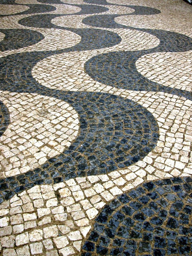 portugisisk gata arkivfoto